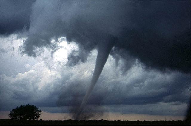 A tornado near Anadarko, Oklahoma