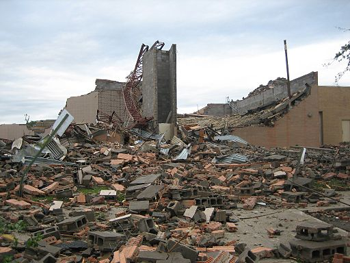 Chapman Tornado Damage