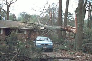 F0 Tornado Damage