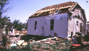 F1 Tornado Damage