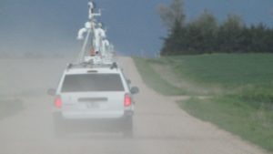 Storm Chasing Vehicle